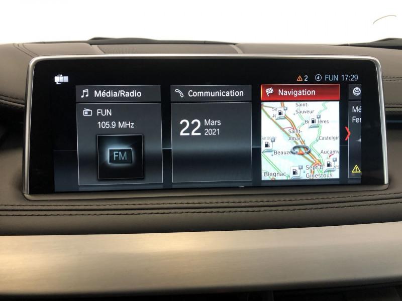 Photo 20 de l'offre de BMW X6 (F16) XDRIVE 40DA 313CH M SPORT 2018 à 54990€ chez SAD Plus