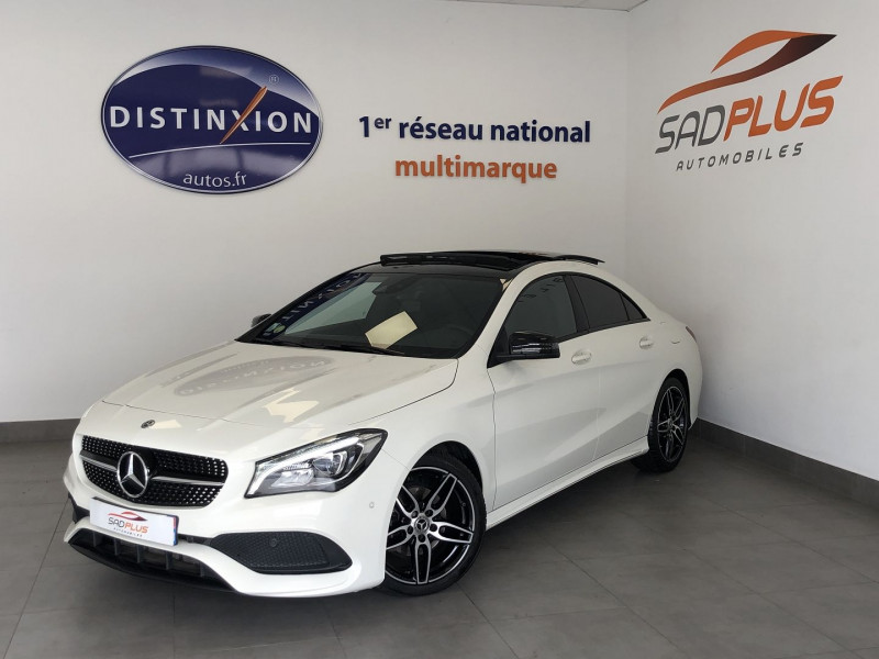 Mercedes-Benz CLA 180 D FASCINATION Diesel BLANC Occasion à vendre