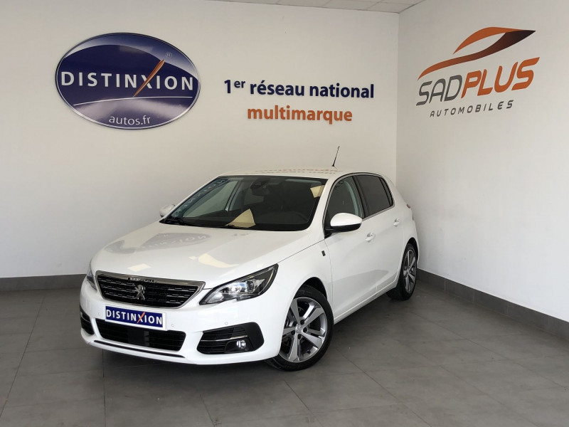 Peugeot 308 1.2 PURETECH 130CH E6.3 S&S TECH EDITION EAT8 Essence BLANC Occasion à vendre