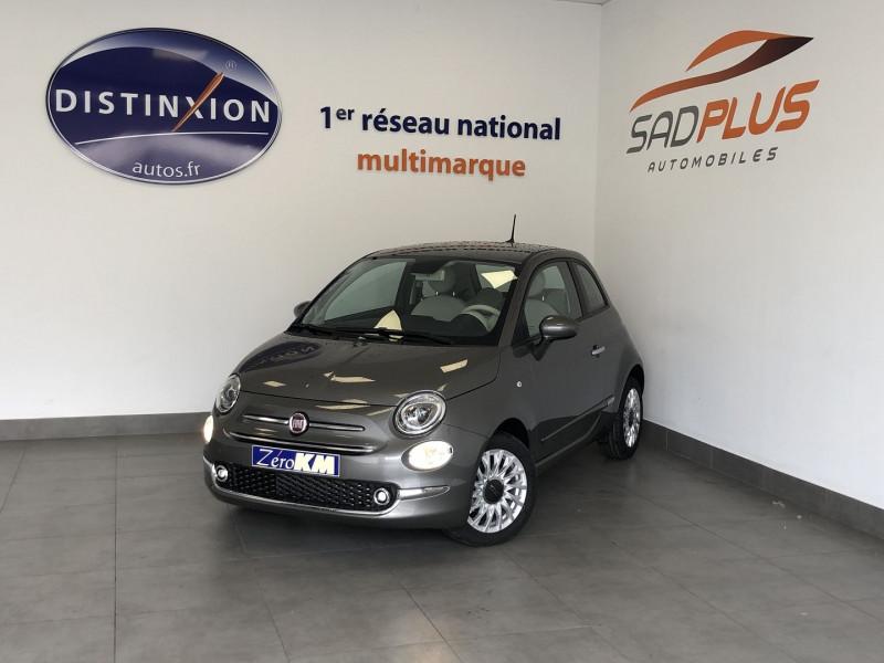 Fiat 500 1.0 70CH BSG S&S LOUNGE Hybride GRIS POMPEI Occasion à vendre