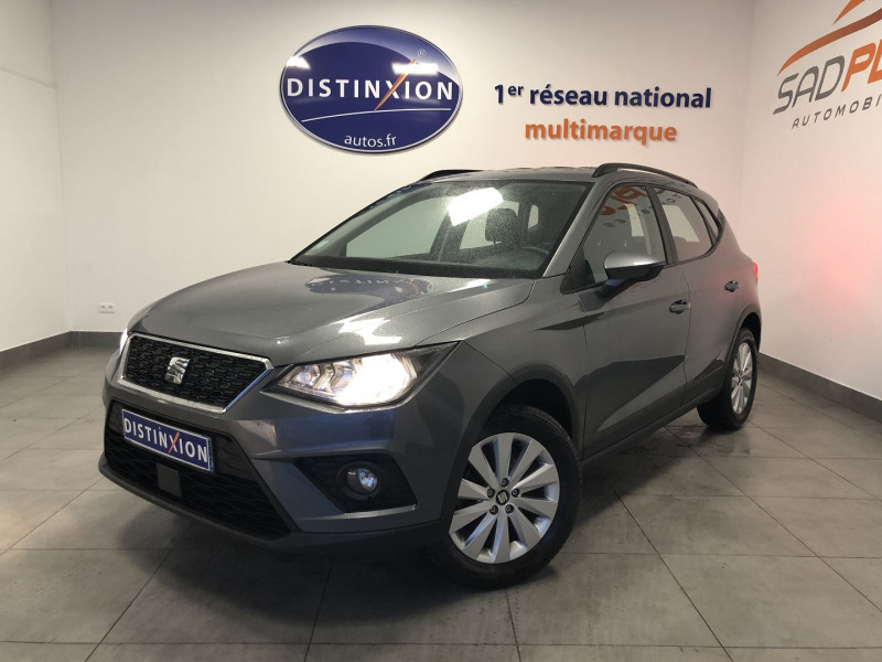 Seat ARONA 1.0 ECOTSI 95CH START/STOP REFERENCE Essence GRIS Occasion à vendre