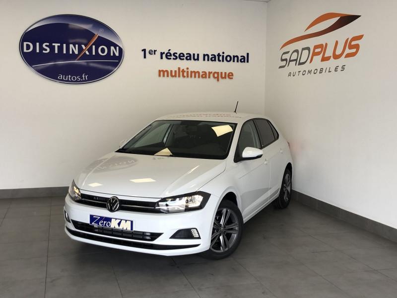 Volkswagen POLO 1.0 TSI 95CH UNITED DSG7 EURO6D-T Essence BLANC Occasion à vendre