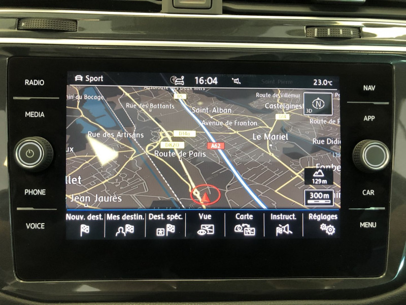 Photo 14 de l'offre de VOLKSWAGEN TIGUAN 2.0 TDI 150CH CARAT DSG7 EURO6D-T à 29990€ chez SAD Plus