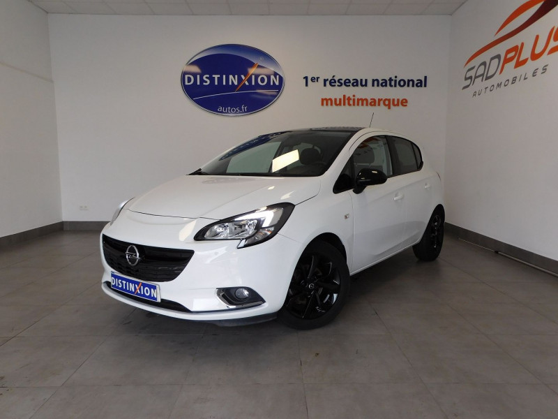 Opel CORSA 1.4 90CH COLOR EDITION 5P Essence BLANC Occasion à vendre