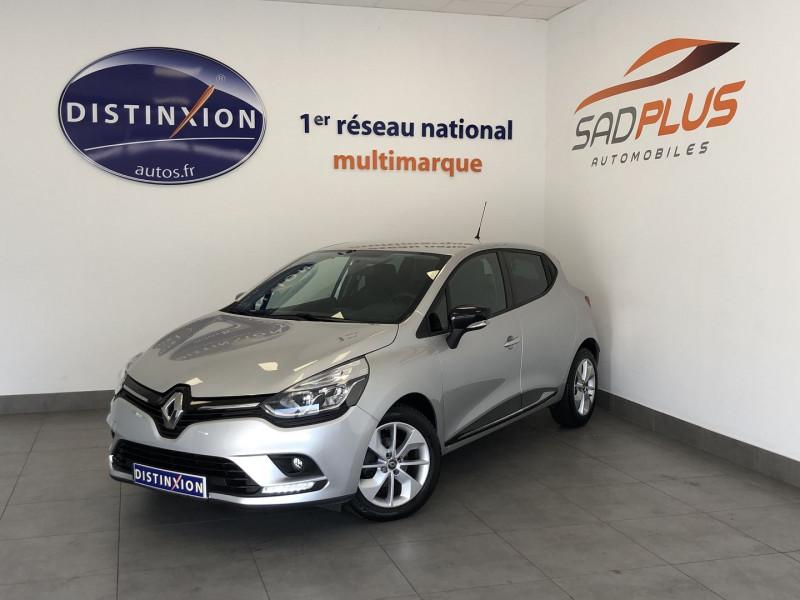Renault CLIO IV 0.9 TCE 90CH ENERGY LIMITED 5P Essence GRIS Occasion à vendre