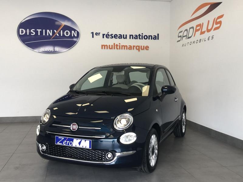 Fiat 500 1.0 70CH BSG S&S LOUNGE Essence BLEU Occasion à vendre