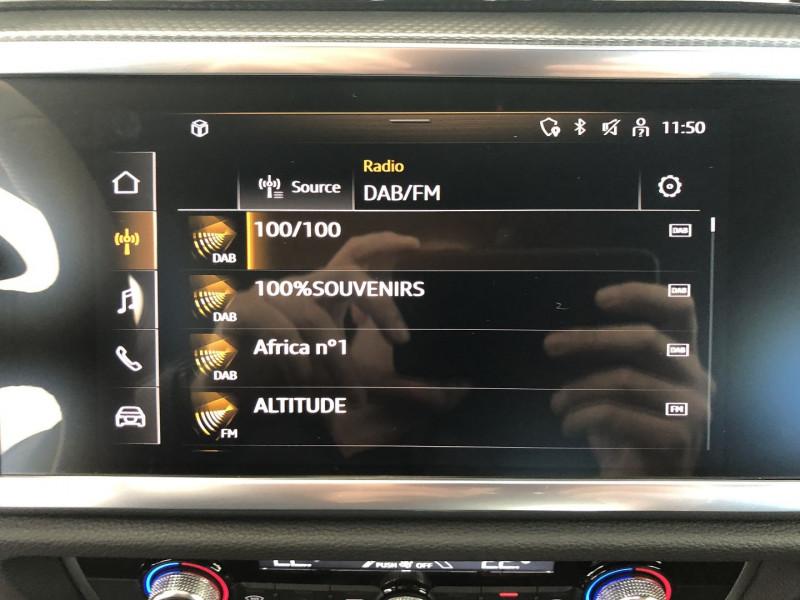 Photo 7 de l'offre de AUDI Q3 SPORTBACK 35 TDI 150CH S LINE S TRONIC 7 à 46990€ chez SAD Plus