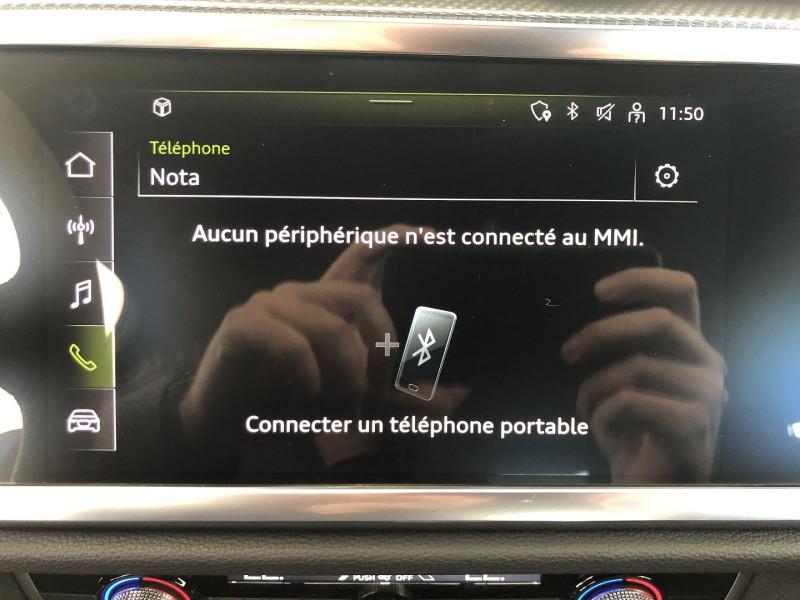 Photo 9 de l'offre de AUDI Q3 SPORTBACK 35 TDI 150CH S LINE S TRONIC 7 à 46990€ chez SAD Plus