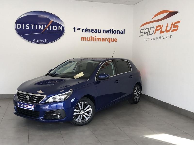 Peugeot 308 1.5 BLUEHDI 100CH E6.C S&S ALLURE Diesel BLEU F Occasion à vendre