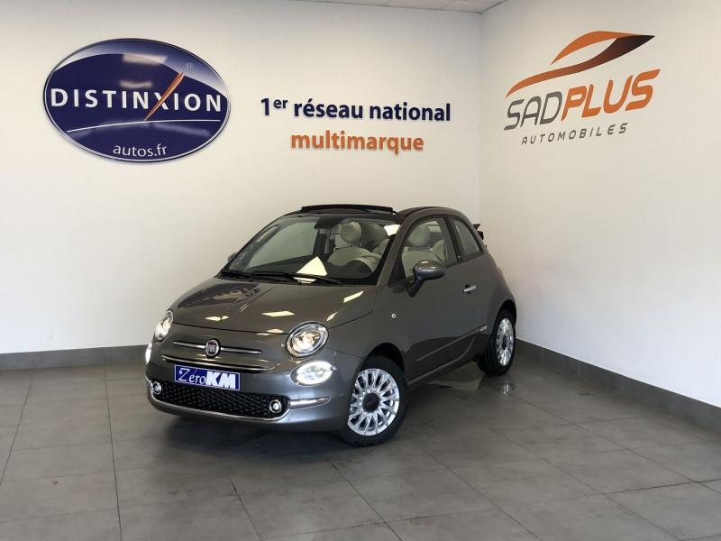 Fiat 500C 1.0 70CH BSG S&S LOUNGE Essence GRIS Occasion à vendre