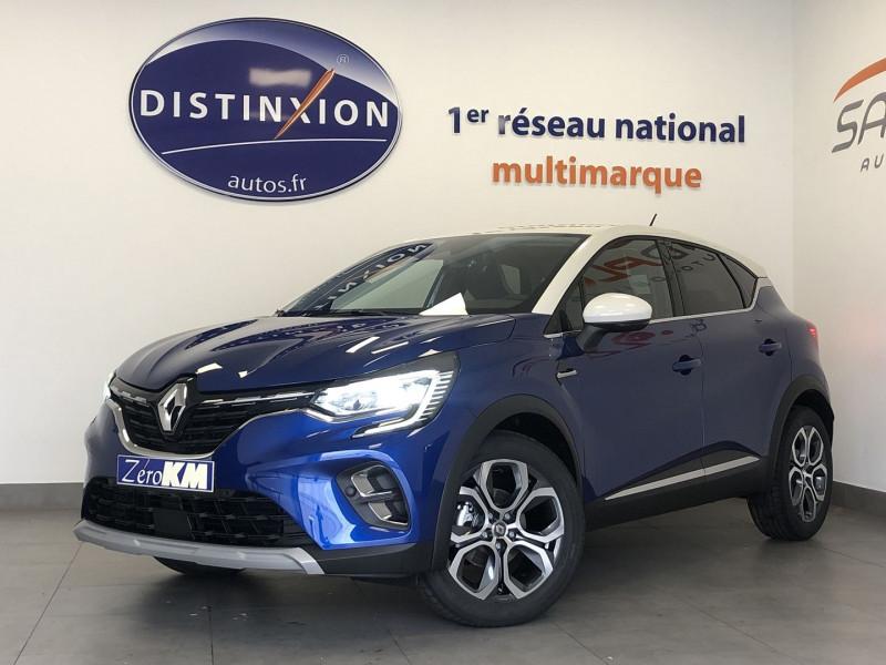 Renault CAPTUR II 1.0 TCE 95CH INTENS - 21 Essence BLEU Occasion à vendre
