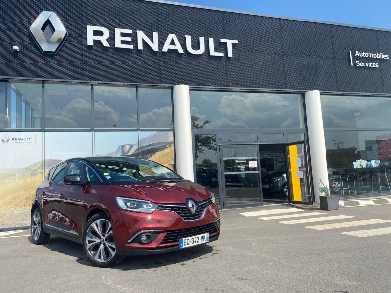 Renault SCENIC IV 1.5 DCI 110CH ENERGY INTENS EDC Diesel ROUGE CARMIN Occasion à vendre