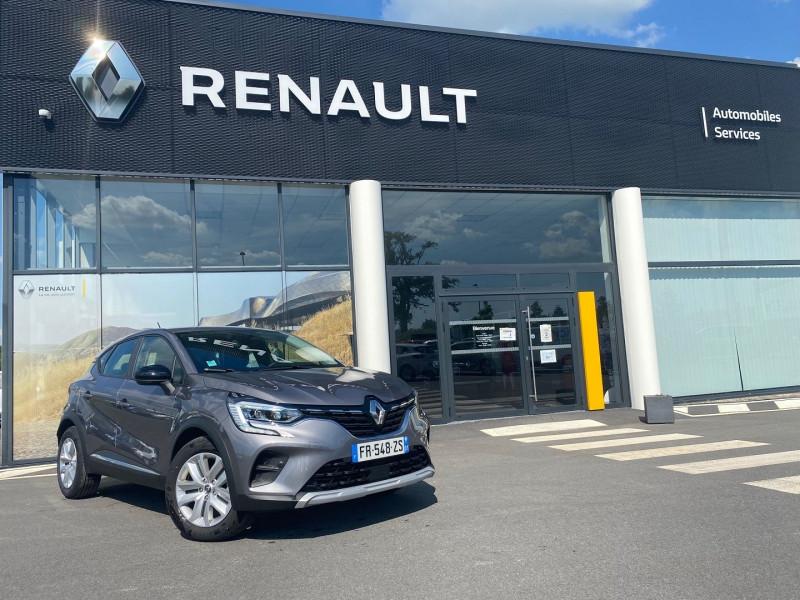Renault CAPTUR II 1.5 BLUE DCI 95CH BUSINESS Diesel GRIS CASSIOPEE Occasion à vendre