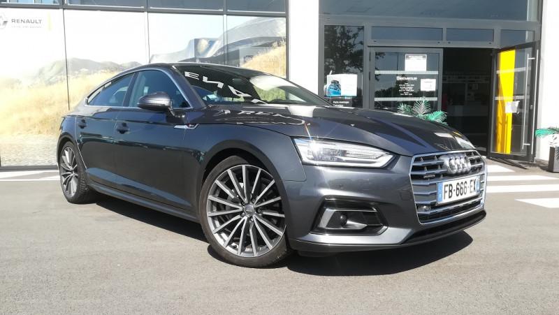 Audi A5 SPORTBACK 3.0 TDI 218CH S LINE QUATTRO S TRONIC 7 Diesel GRIS MOUSSON Occasion à vendre