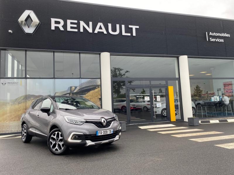 Renault CAPTUR 1.2 TCE 120CH ENERGY INTENS EDC Essence GRIS CASSIOPEE Occasion à vendre