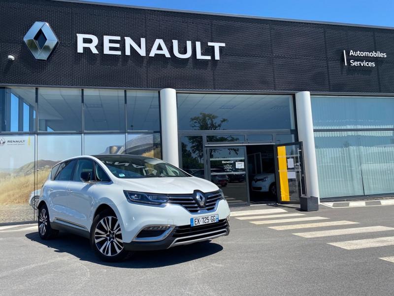 Renault ESPACE V 1.6 DCI 160CH ENERGY INITIALE PARIS EDC Diesel BLANC NACRE Occasion à vendre