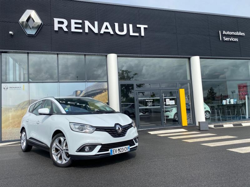 Renault GRAND SCENIC IV 1.5 DCI 110CH ENERGY BUSINESS EDC 7 PLACES Diesel BLANC GLACIER Occasion à vendre