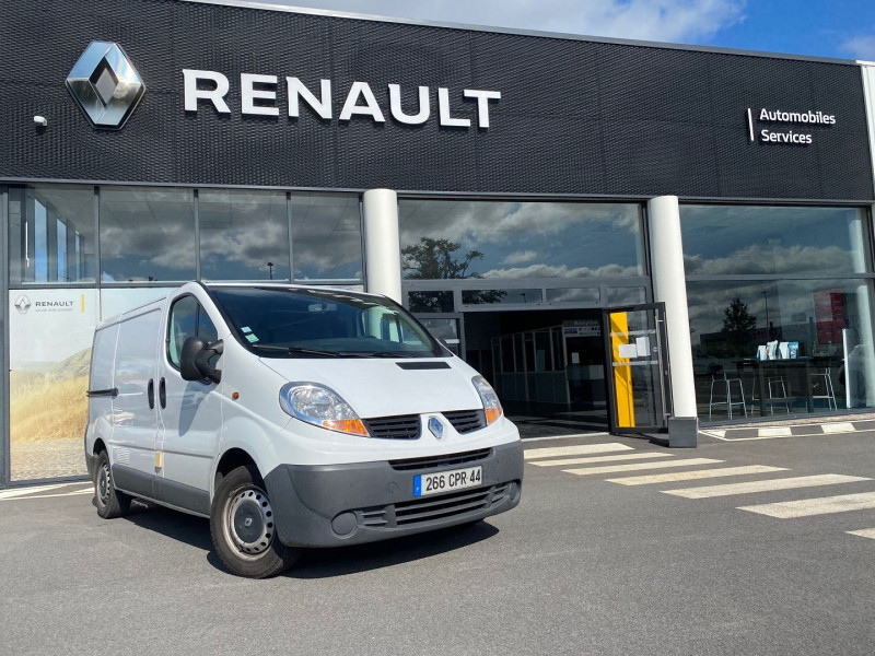 Renault TRAFIC II FG L1H1 1000 2.0 DCI 90CH CONFORT Diesel BLANC Occasion à vendre