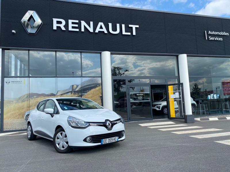 Renault CLIO IV STE 1.5 DCI 75CH ENERGY AIR MEDIANAV EURO6 Diesel BLANC Occasion à vendre