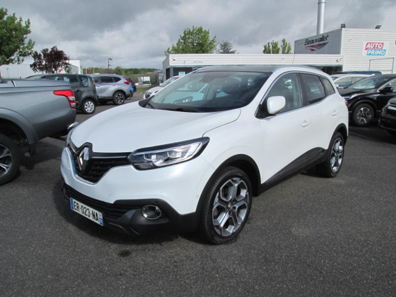 Renault Kadjar 1.2 TCe 130ch energy Intens Essence BLANC NACRE Occasion à vendre