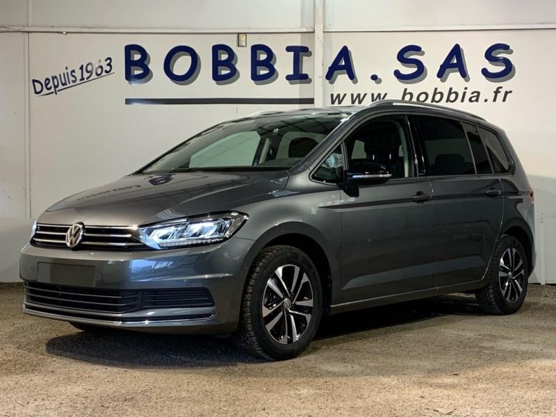 Volkswagen TOURAN 2.0 TDI 150CH FAP IQ.DRIVE DSG7 7 PLACES EURO6D-T Diesel INDIUMGRAU MTL Occasion à vendre