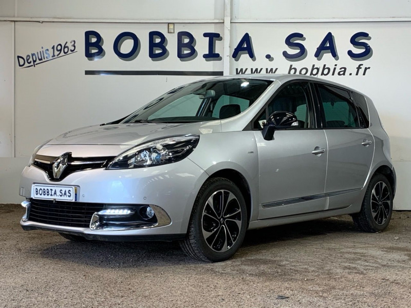 Renault SCENIC III 1.5 DCI 110CH ENERGY BOSE ECO² 2015 Diesel GRIS CLAIR MTL Occasion à vendre