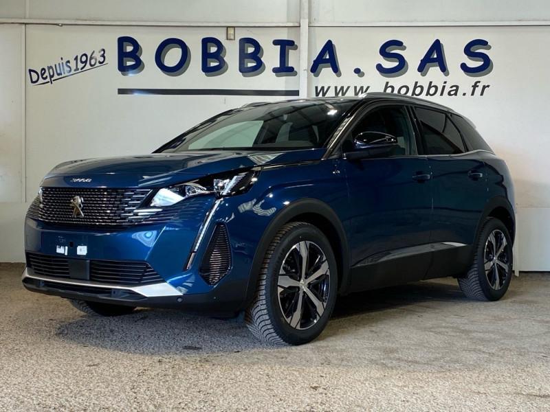 Peugeot 3008 NOUVEAU 1.5 BLUEHDI 130CH S&S GT EAT8 Diesel BLEU CELEBES Neuf à vendre