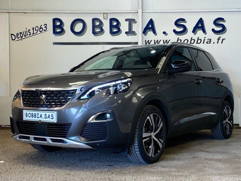 Peugeot 3008 1.5 BLUEHDI 130CH S&S GT LINE EAT8 Diesel PLATINIUM/NOIR Occasion à vendre