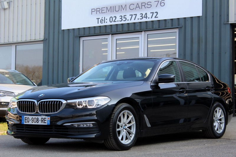 Bmw SERIE 5 G30 (G30) 520DA 190 EFFICIENT DYNAMICS BUSINESS Diesel NOIR Occasion à vendre