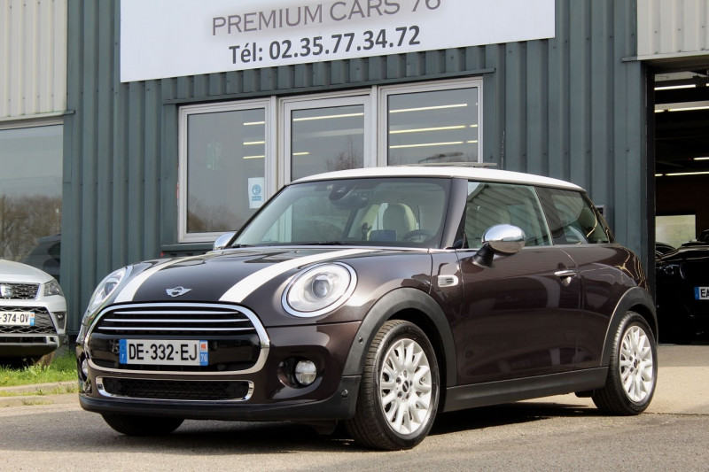 Mini MINI 3 3P III 1.5 136 COOPER PACK CHILI BVA Essence CHOCOLAT Occasion à vendre