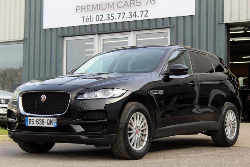Jaguar F-PACE 2.0 D 180 PURE BVA Diesel NOIR Occasion à vendre