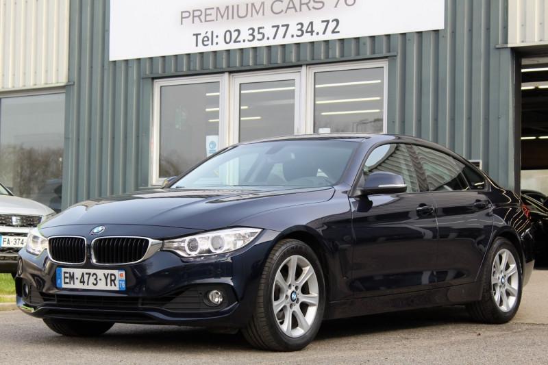 Photo 1 de l'offre de BMW SERIE 4 F36 GRAN COUPE (F36) GRAN COUPE 420I 184 LOUNGE BVA8 à 25950€ chez Premium Cars 76