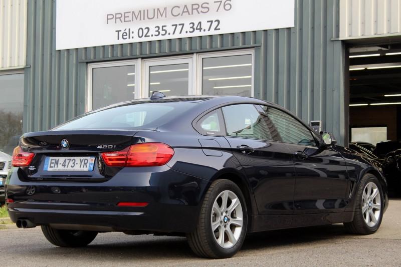 Photo 2 de l'offre de BMW SERIE 4 F36 GRAN COUPE (F36) GRAN COUPE 420I 184 LOUNGE BVA8 à 25950€ chez Premium Cars 76
