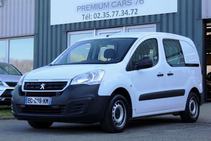Peugeot PARTNER 1.6 HDI 75CV BVM5 PLD PLG CONFORT Diesel BLANC Occasion à vendre