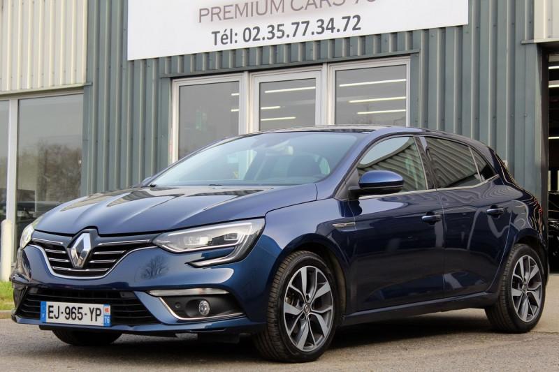 Renault MEGANE 4 IV 1.5 DCI 110 ENERGY INTENS EDC Diesel BLEU Occasion à vendre