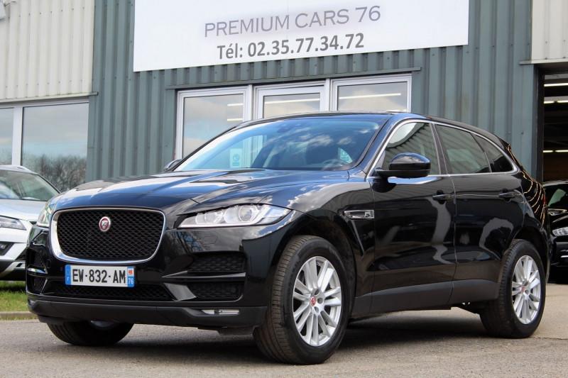 Jaguar F-PACE 2.0 D 180 PRESTIGE LIMITED BVA Diesel NOIR Occasion à vendre