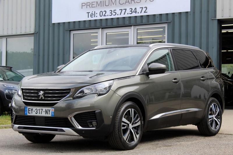 Peugeot 5008 (2E GENERATION) II 1.6 BLUEHDI 120 S&S ALLURE EAT6 Diesel GRIS Occasion à vendre