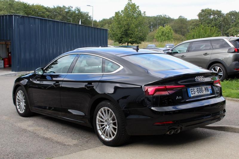 Photo 7 de l'offre de AUDI A5 SPORTBACK (2E GENERATION) II SPORTBACK 2.0 TDI 190 BUSINESS LINE S TRONIC 7 à 28950€ chez Premium Cars 76
