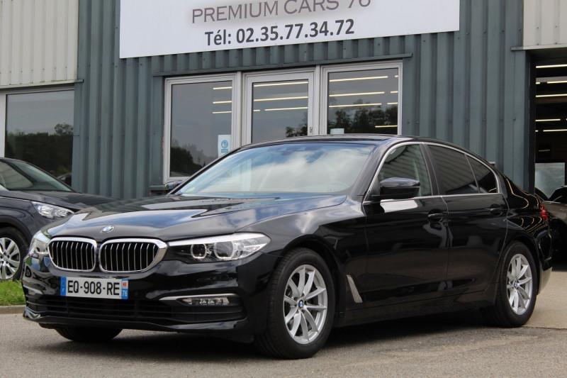 Photo 1 de l'offre de BMW SERIE 5 G30 (G30) 520DA 190 EFFICIENT DYNAMICS BUSINESS à 27450€ chez Premium Cars 76