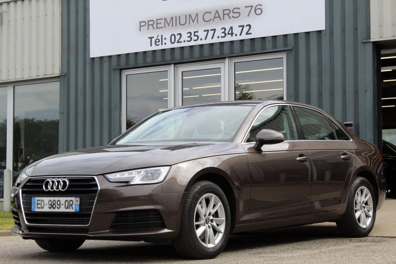 Audi A4 (5E GENERATION) V 2.0 TFSI 190 BUSINESS LINE S TRONIC Essence CHOCOLAT Occasion à vendre