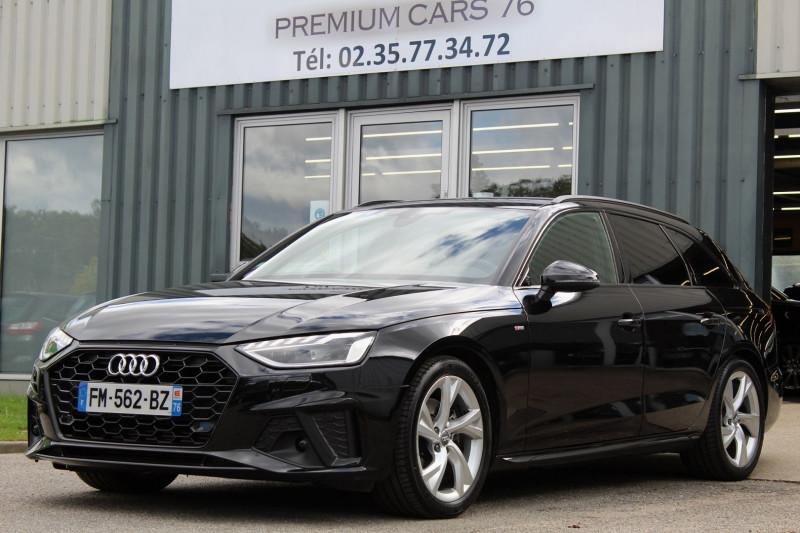Audi A4 (5E GENERATION) AVANT V (3) AVANT 35 TFSI 150 S LINE S TRONIC 7 Essence NOIR Occasion à vendre