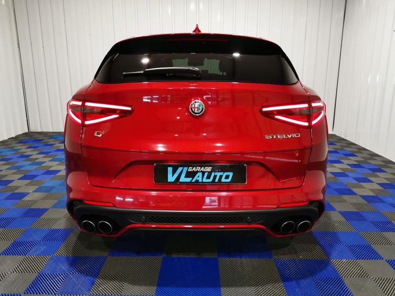 Photo 8 de l'offre de ALFA ROMEO STELVIO 2.9 V6 510CH QUADRIFOGLIO Q4 AT8 à 72990€ chez VL Auto