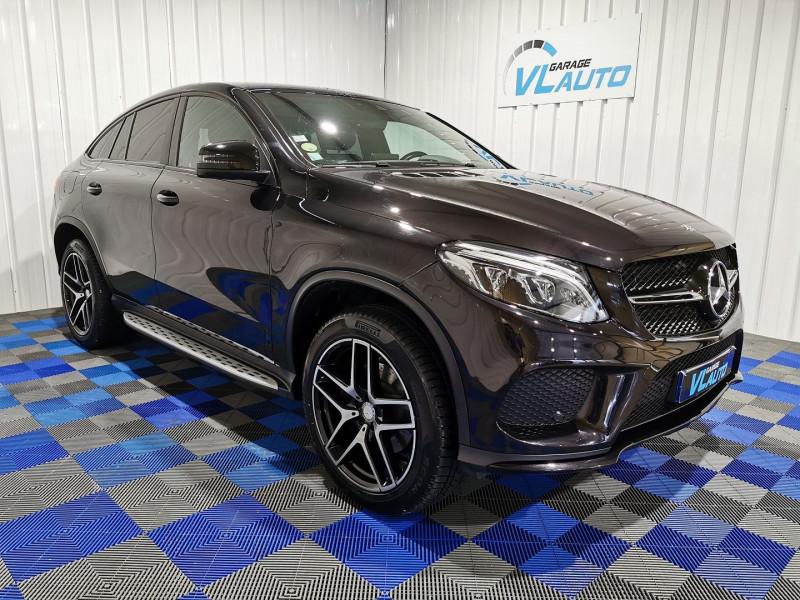 Mercedes-Benz GLE COUPE (C292) 350 D 258CH SPORTLINE 4MATIC 9G-TRONIC Diesel NOIR Occasion à vendre