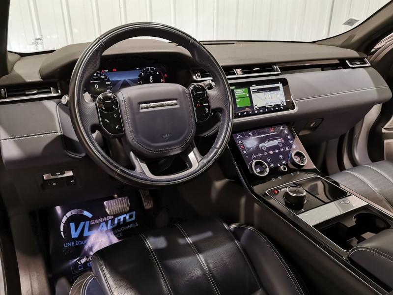 Photo 8 de l'offre de LAND-ROVER RANGE ROVER VELAR 3.0D V6 300CH R-DYNAMIC HSE AWD BVA à 57990€ chez VL Auto
