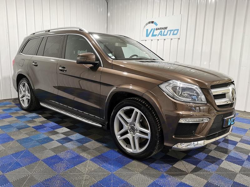Mercedes-Benz CLASSE GL (X166) 350 BLUETEC FASCINATION 4MATIC 7G-TRONIC + Diesel MARRON Occasion à vendre