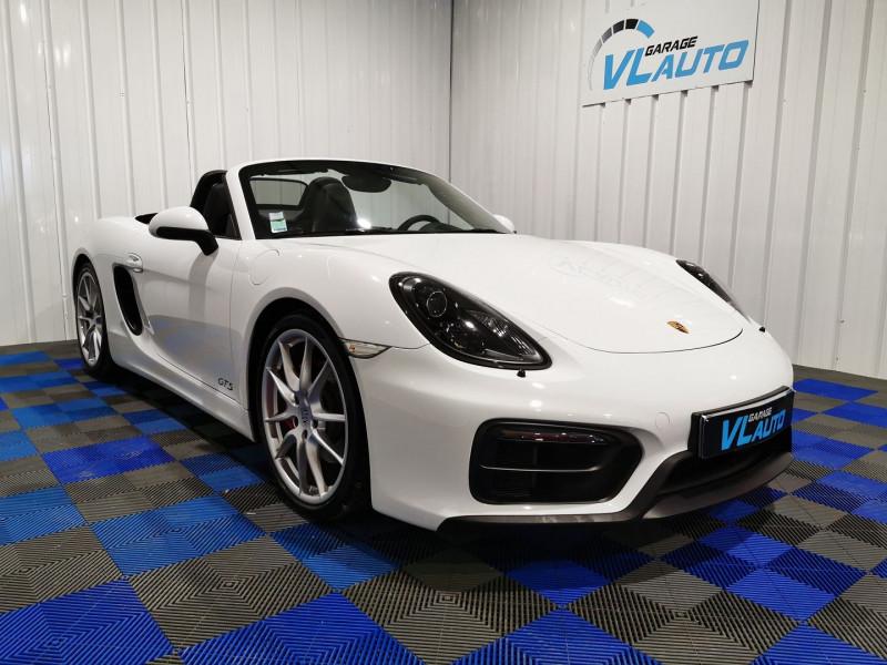 Porsche BOXSTER (981) 3.4 330CH GTS PDK Essence BLANC Occasion à vendre