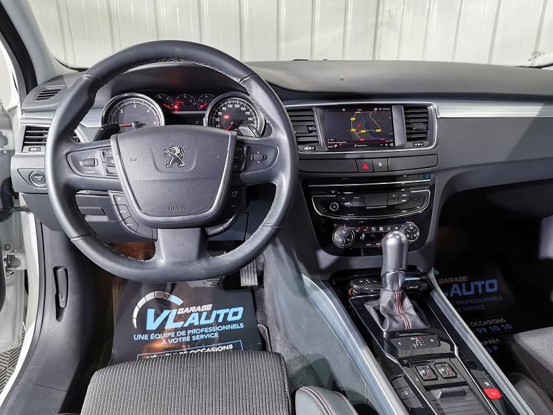 Photo 6 de l'offre de PEUGEOT 508 2.0 BLUEHDI 180CH FAP GT EAT6 à 16490€ chez VL Auto