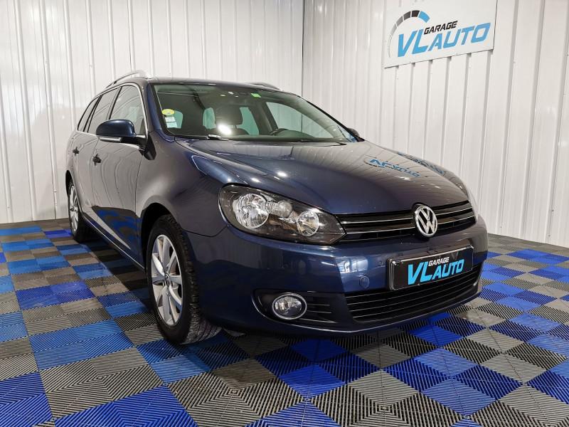Volkswagen GOLF VI SW 1.6 TDI 105CH BLUEMOTION FAP CONFORTLINE Diesel BLEU F Occasion à vendre