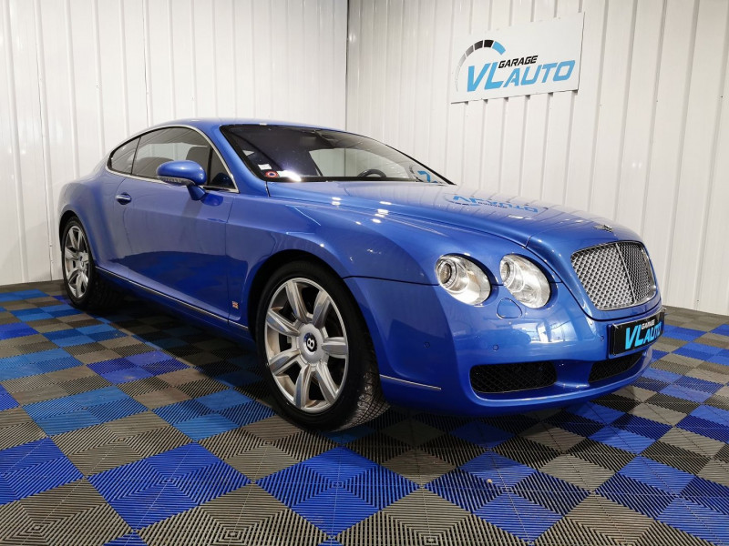 Bentley CONTINENTAL GT 6.0 Essence BLEU Occasion à vendre