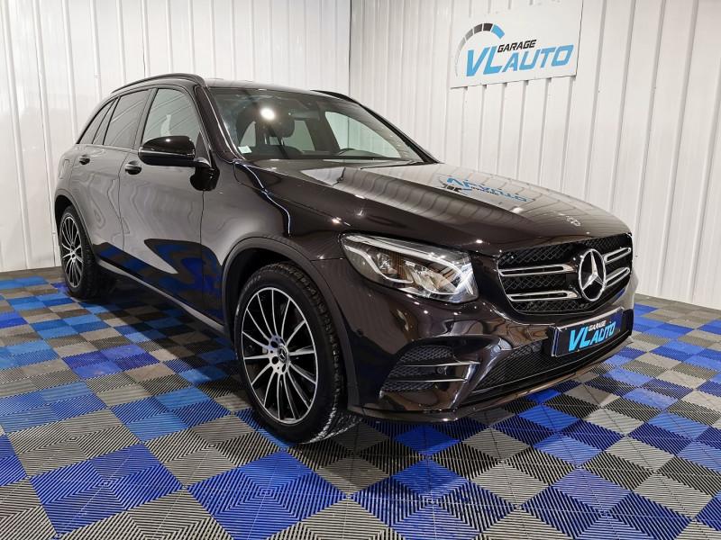 Mercedes-Benz GLC 220 D 170CH SPORTLINE 4MATIC 9G-TRONIC Diesel NOIR Occasion à vendre
